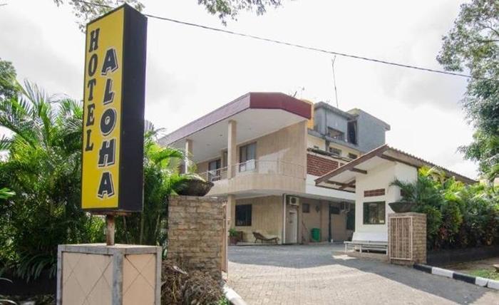 Hotel Aloha Malang - Tampilan Luar Hotel