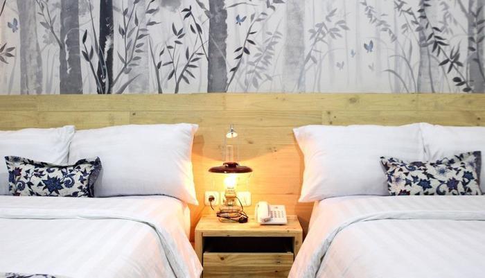 Omah Njonja Bed & Brasserie Yogyakarta - Omah Njonja Twin Bed Room
