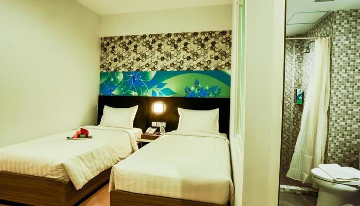 Evo Hotel Pekanbaru Pekanbaru - Kamar Standart Twin