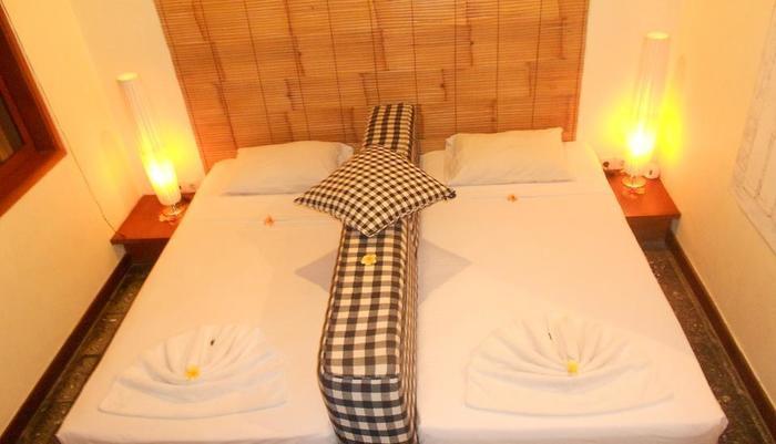 Wida Hotel Bali - tempat tidur Twin