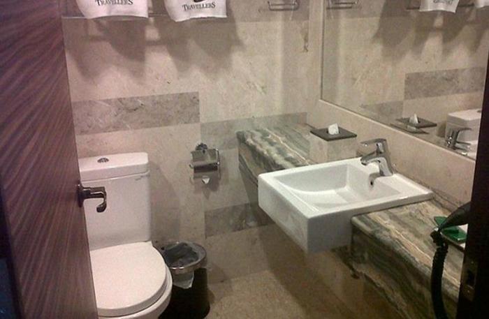 Grand Allison Hotel Sentani - Kamar mandi