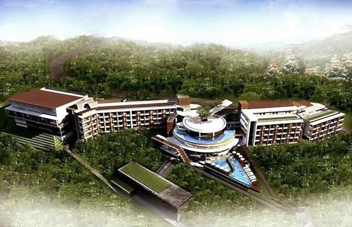 Pesona Alam Resort Bogor - Tampilan Luar Hotel