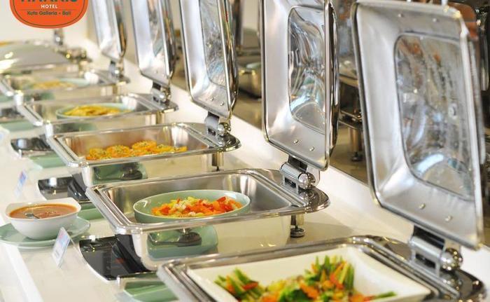 HARRIS Hotel Kuta Galleria Bali - menu sarapan