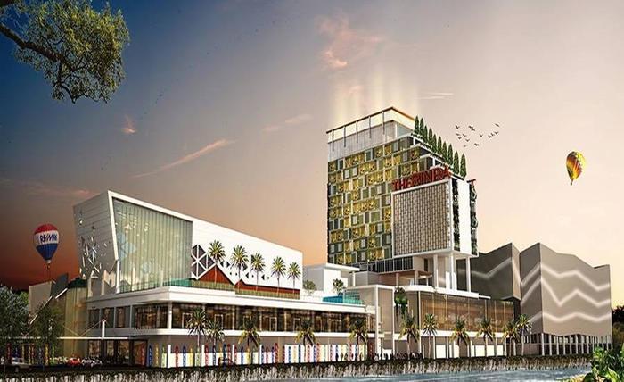 The Rinra Makassar - Tampilan Luar Hotel