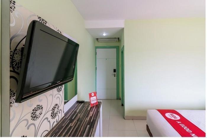 NIDA Rooms Airport Mall Makassar - Kamar tamu