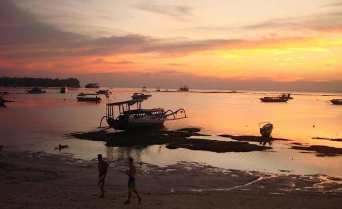 Nitya Home Stay Bali - Pemandangan laut