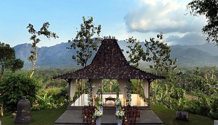 Plataran Borobudur Magelang - Wedding Venue at Putri Dewi