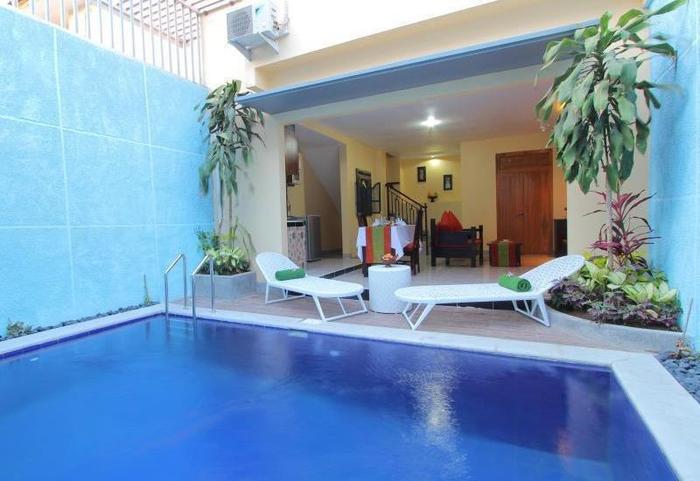 Jimbaran Lestari Culture Villa Bali - Kolam Renang