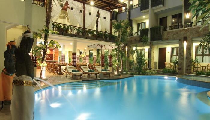 Manggar Indonesia Hotel Bali - Kolam Renang