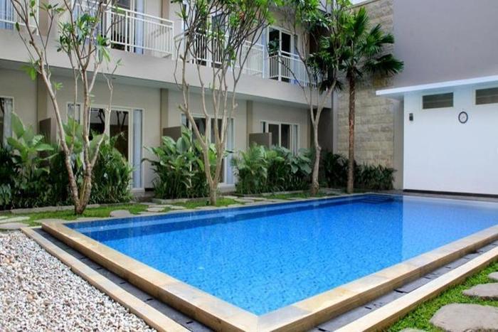 Cozy Stay Hotel Simpang Enam - Kolam Renang