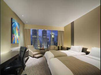 Traders Hotel Kuala Lumpur - Traders, Room, 2 Twin Beds, View Regular Plan