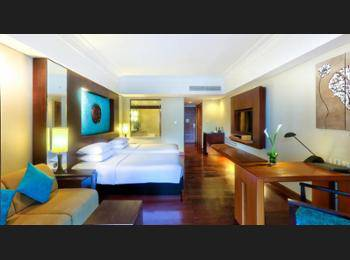 Hilton Bali Resort Nusa Dua - Kamar Twin Eksekutif, non-smoking, pemandangan laguna Regular Plan