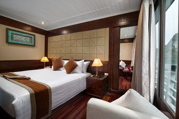 Halong Glory Legend Cruise Ha Long - Kamar Keluarga (Deluxe for 2 boat) Hemat 30%
