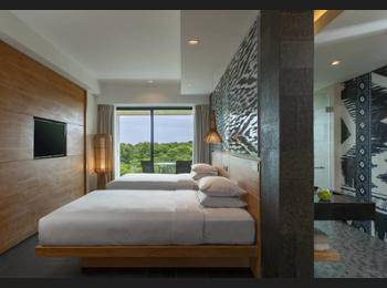 Renaissance Bali Uluwatu Resort & Spa Bali - Deluxe Room, 2 Twin Beds, Garden View Regular Plan