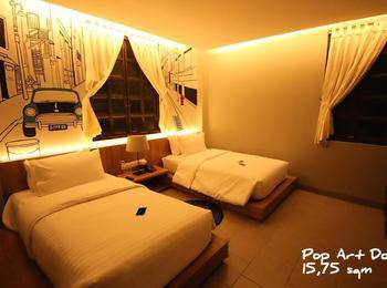 Triple Seven Hotel Bandung - Vintage Twin Room Only Regular Plan