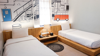 Triple Seven Hotel Bandung - Vintage King / Twin Room Breakfast Regular Plan