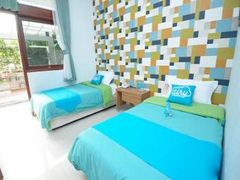 Airy Gasibu Aria Jipang 6 Bandung - Deluxe Twin Room with Breakfast Regular Plan
