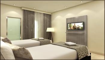 Smart Budget Hotel Semarang - Balcony Twin Room Only Regular Plan