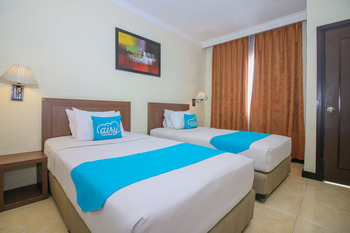 Airy Yos Sudarso 1145 Lubuklinggau - Deluxe Twin Room With Breakfast Special Promo Mar 5