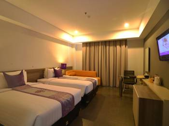 Hotel Grand Inna Muara Padang - Deluxe Twin Room Only Regular Plan