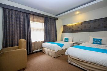 Airy Kendari Barat Diponegoro 75 Kendari - Junior Twin Room Only Special Promo Jan 5