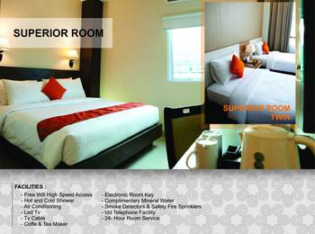 Winstar Hotel Pekanbaru - Superior Room Only Regular Plan