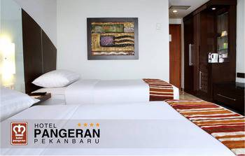 Hotel Pangeran Pekanbaru - Deluxe Twin Regular Plan