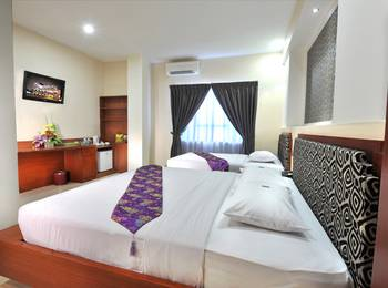 Gaja Hotel Pekanbaru - Family Room with Breakfast Regular Plan