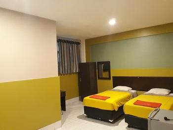 Hotel Wisma Indonesia Kendari - Deluxe Twin Room Only Regular Plan