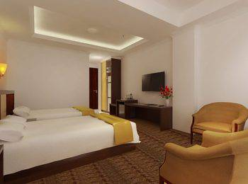Grand Asrilia Hotel Convention & Restaurant Bandung - Deluxe Twin Room Only LUXURY - Pegipegi Promotion