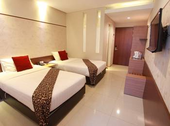 Andelir Convention Hotel Semarang - Deluxe Twin Room Only Regular Plan