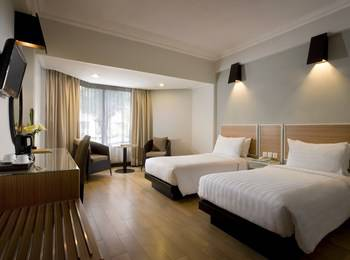 Hotel Santika Premiere Jogja - Deluxe Room Twin Regular Plan