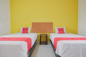 RedDoorz Syariah @ Pasir Putih Jambi Jambi - RedDoorz Twin Room with Breakfast Regular Plan