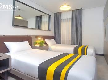 Rooms Inc Hotel Semarang - Superior Twin Room Only Non Smoking Regular Plan