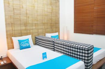Airy Legian Melasti 36 Kuta Bali - Deluxe Twin Room With Breakfast Regular Plan