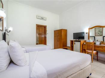 Inna Bali Hotel Bali - Deluxe Room Pool View Room Only #WIDIH - Pegipegi Promotion