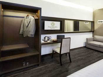 Amanuba Hotel & Resort Rancamaya Bogor - Deluxe Room Regular Plan