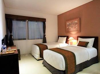 Hotel Puriartha Ubud Bali - Deluxe Twin  Room Only Regular Plan