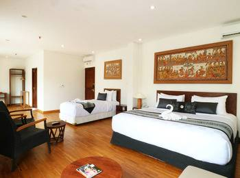 Hotel Puriartha Ubud Bali - Family Suite with Balcony and Pool View Room Only LMD