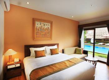 Hotel Puriartha Ubud Bali - Suite with Balcony and Pool View Room Only LM14 C19