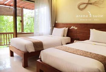 Arana Suites Bali - Deluxe Room Last Minute Promo 35% - No Refund !!