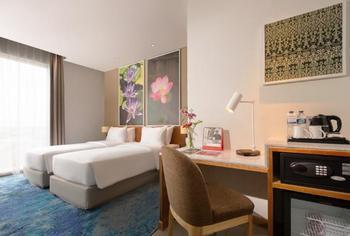 Swiss-Belinn Singkawang Singkawang - Deluxe Twin Room Only Regular Plan