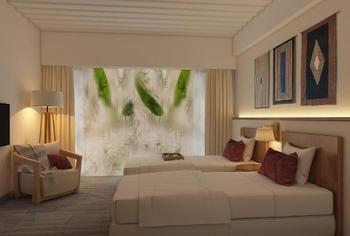 Swiss-Belinn Singkawang Singkawang - Premier Room Garden View Twin Regular Plan