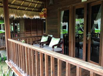 Mushroom Garden Villas Bali - Villa Pemandangan Taman Regular Plan
