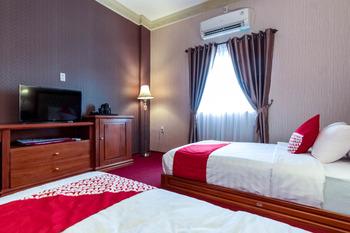 OYO 293 Mutiara Hijau Suites Syariah Medan - Deluxe Twin Room Regular Plan