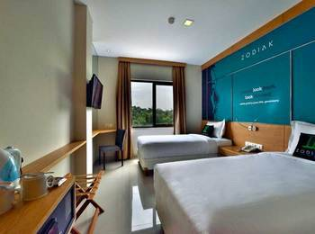 Zodiak MT Haryono by KAGUM Hotels Jakarta - Superior Twin Room Only Regular Plan