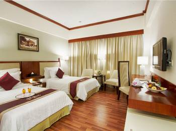 Hotel Sahid Surabaya - Deluxe Business Twin Room Only  SAFECATION