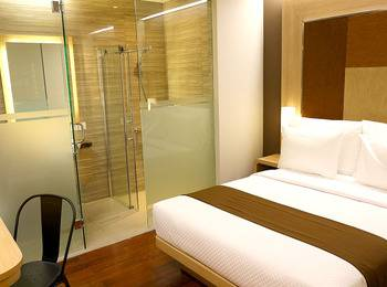 Grand Citihub Hotel Panakkukang - Nano Room 2 person Regular Plan