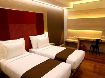 Grand Citihub Hotel Panakkukang - Superior Twin Regular Plan