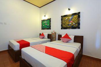 OYO 1408 Coral Choice Gili Trawangan Lombok - Standard Twin Room Regular Plan